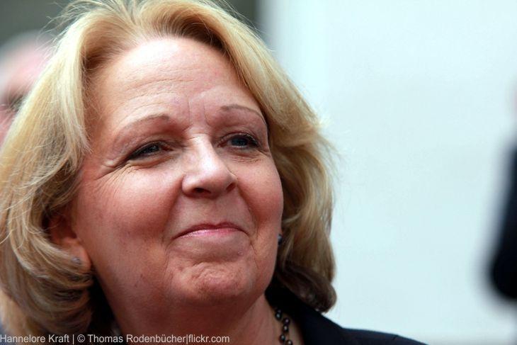 Hannelore Kraft (SPD) muss das Heft des Handelns wieder zurückgewinnen