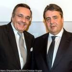 Sigmar Gabriel und Mario Ohoven