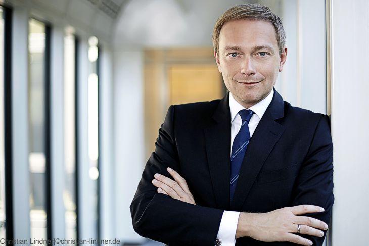 """FDP-Chef Lindner: """"Merkel belastet die CDU"""""""