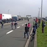 Flüchtlinge Calais Eurotunnel