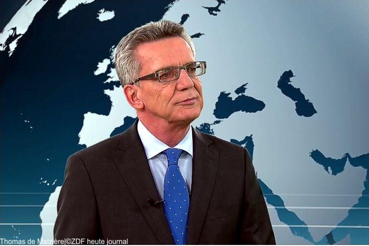 """De Maizière greift FDP-Chef Lindner wegen Jamaika-Aus an: """"Regieren erfordert Mut"""""""