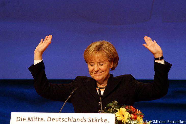 Nur eine Momentaufnahme – Umfragen sehen Merkel vor Schulz