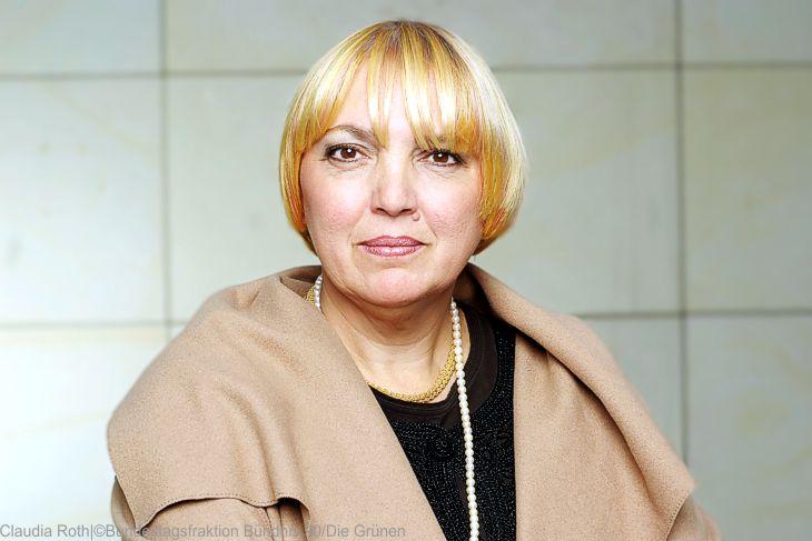 Bundestags-Vizepräsidentin Roth (Grüne) fordert Aussetzung der Abschiebungen aus Griechenland