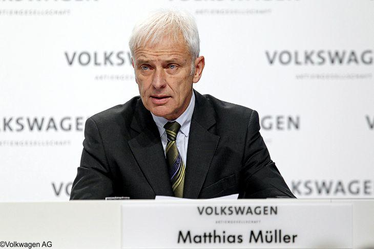 """Müller: """"Volksagen ist viel mehr als Krise"""""""