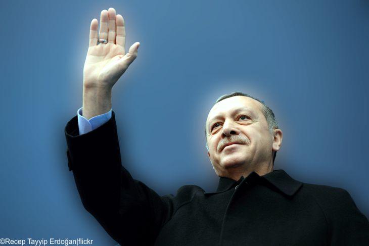 Türkei Präsident Erdogan und der Schwarze Peter