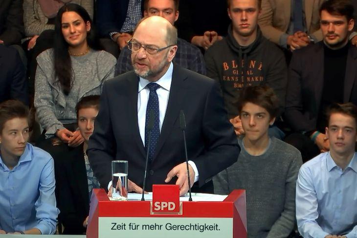 SPD-Kanzlerkandidaten Martin Schulz – Im Hochgefühl