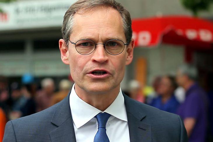 Berlins Regierender Bürgermeister Müller (SPD) kritisiert Bundesinnenminister Thomas de Maizière (CDU)