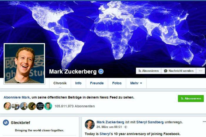 Koalitionspolitiker fordern harte Bestrafung für Facebook