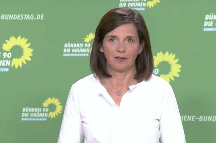 Grünen-Fraktionschefin Göring-Eckardt fordert Wohngarantie